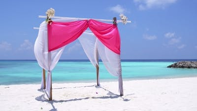 Marriage on Tropical Beach