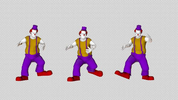Thumbnail for Clown Big Walk Loop
