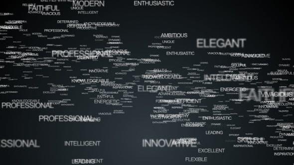 Words Logo Animation