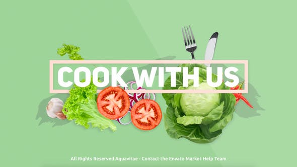 Thumbnail for Cook With Us - Cooking TV Show Package