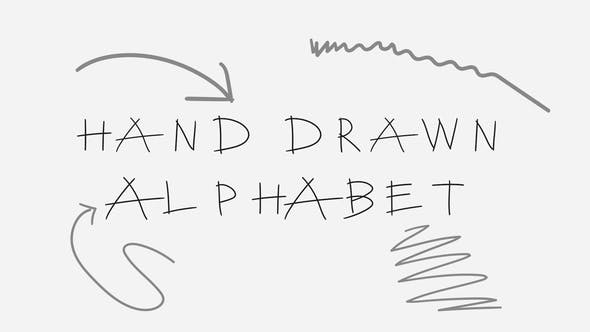 Thumbnail for Hand Drawn Alphabet