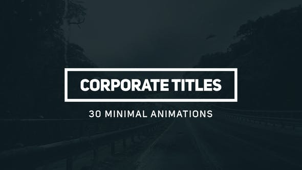 Cover Image for Corporate Titles