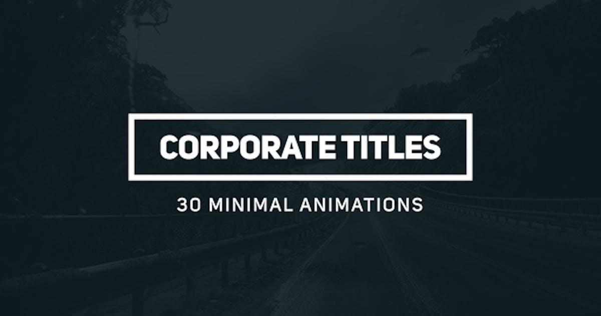 Download Corporate Titles by aliyarmikayilov