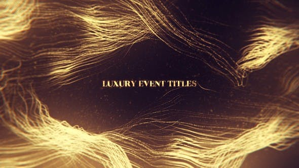 Thumbnail for Luxury Event Titles