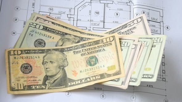 Thumbnail for Architectural Drawing and Dollar Money