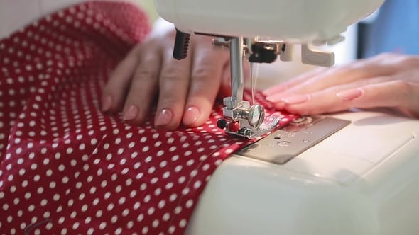 Seamstress at the Table