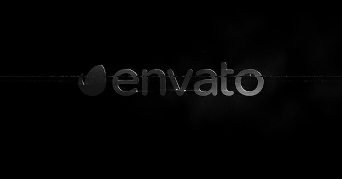 Download B&W - Glitch Logo Reveal by secondfalseiteration