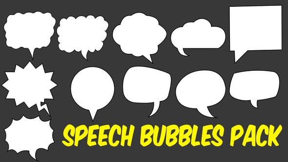 Thumbnail for Speech Bubbles Pack