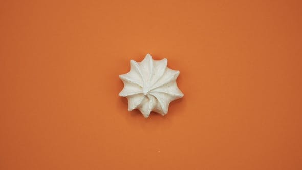 Thumbnail for Bright and Colorful Marshmallow   Shot on a Orange Background