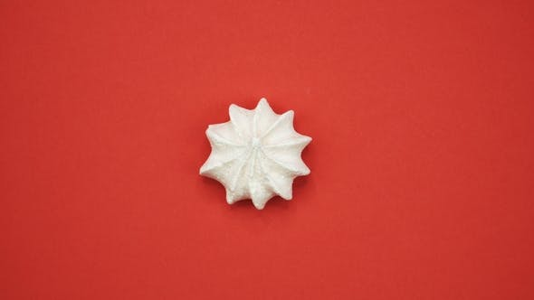 Thumbnail for Bright and Colorful Marshmallow   Shot on a Red Background