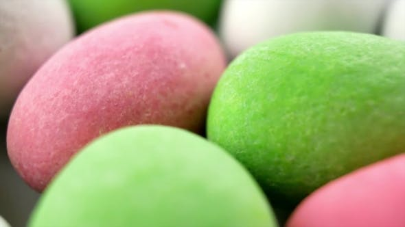 Thumbnail for Multicolored Candy Peanuts Similar To Easter Eggs