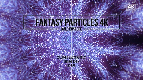 Fantasy Particles Kaleidoscope