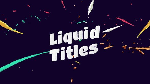 Thumbnail for Liquid Animation Titles