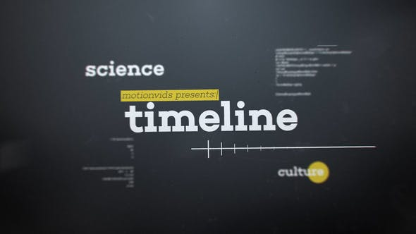 Cover Image for Abstract 3D Timeline