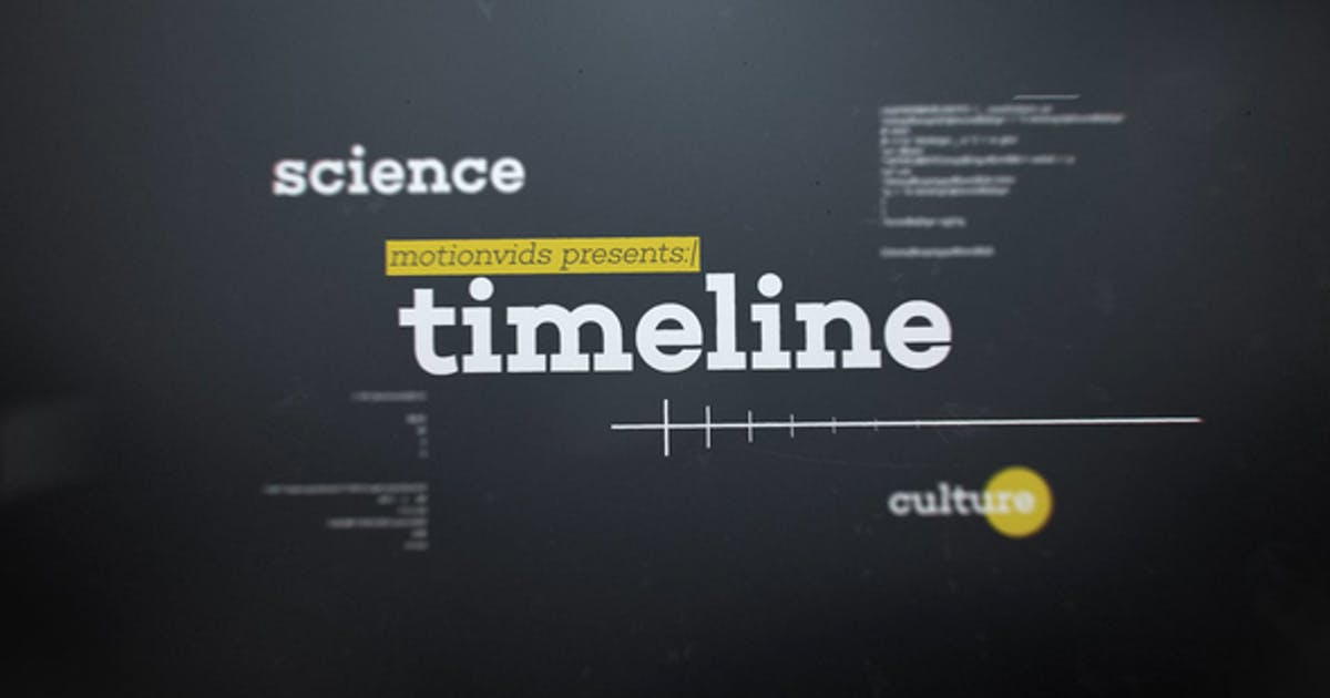 Download Abstract 3D Timeline by motionvids
