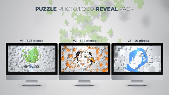 Thumbnail for Puzzle Photo / Logo Reveal Pack