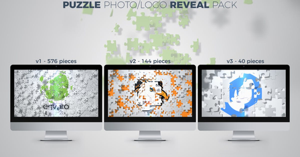 Puzzle Photo / Logo Reveal Pack by dorde
