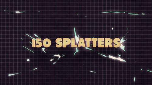 150 Splatter Animations + Opener
