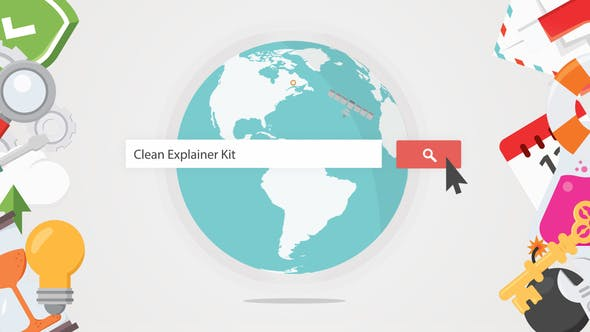 Thumbnail for Clean Explainer Kit