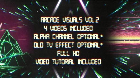 Thumbnail for Retro Arcade Visuals Vol.2