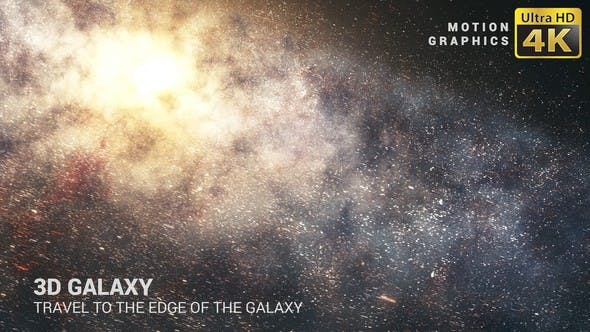 Thumbnail for 3D Galaxy | Travel to the Edge of the Galaxy 4K