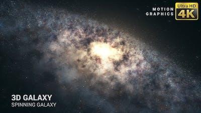 Spinning Galaxy