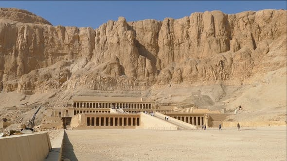 Thumbnail for Famous Ancient Temple of Hatshepsut in Egypt