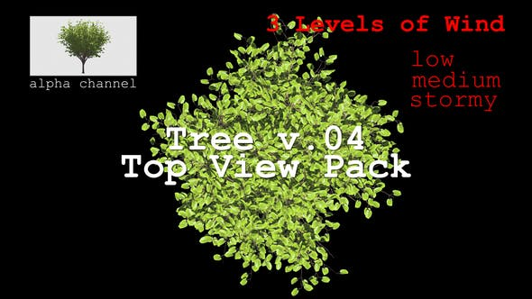 Thumbnail for Tree v. 04 Top View Pack