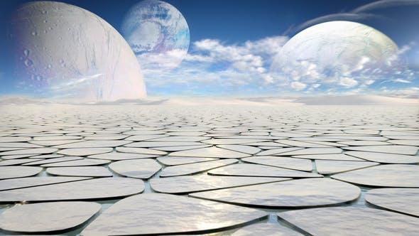 Thumbnail for Alien Planet Landscape
