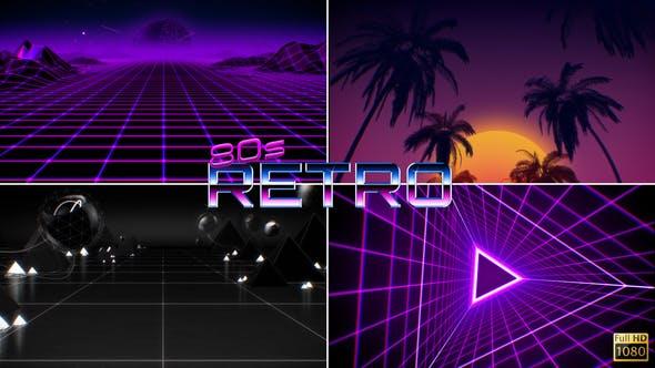 80's Retro Sci-Fi