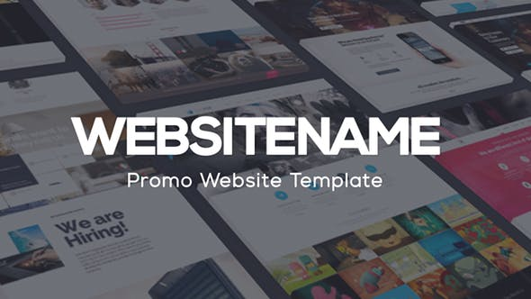 modern website presentation by aquavitae on envato elements