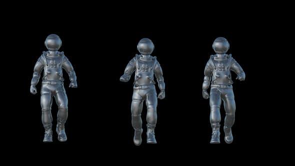 Thumbnail for Metal Cosmonaut Walk Animation