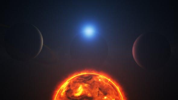 Thumbnail for Terre 3D et système solaire