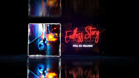 Thumbnail for Endless Story Stylish Slideshow/Youtube Travel Blog/ Digital Slide/ Brillante Presentación/Art Promo