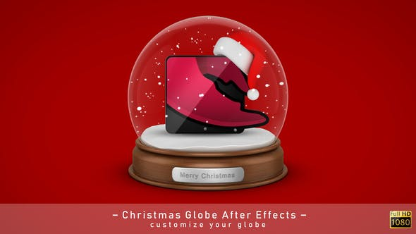 Thumbnail for Christmas Globe Elements