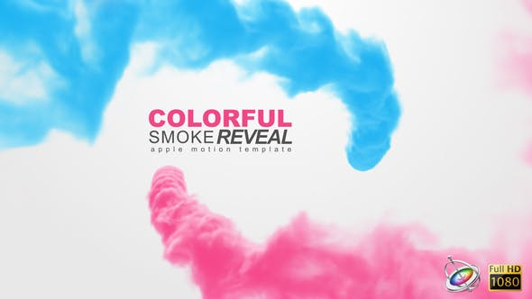 Thumbnail for Colorful Smoke Reveal - Apple Motion