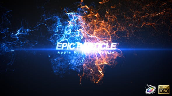 Thumbnail for Epic Particle Reveal - Apple Motion