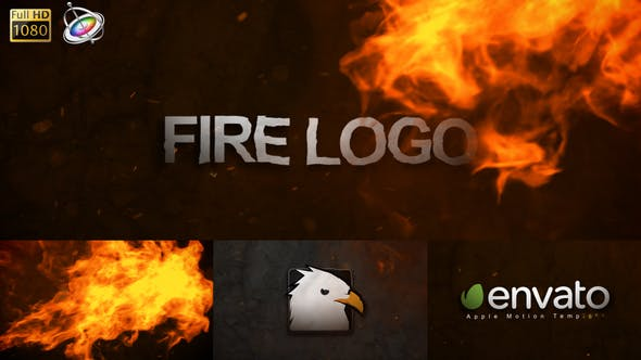 Thumbnail for Fire Logo - Apple Motion
