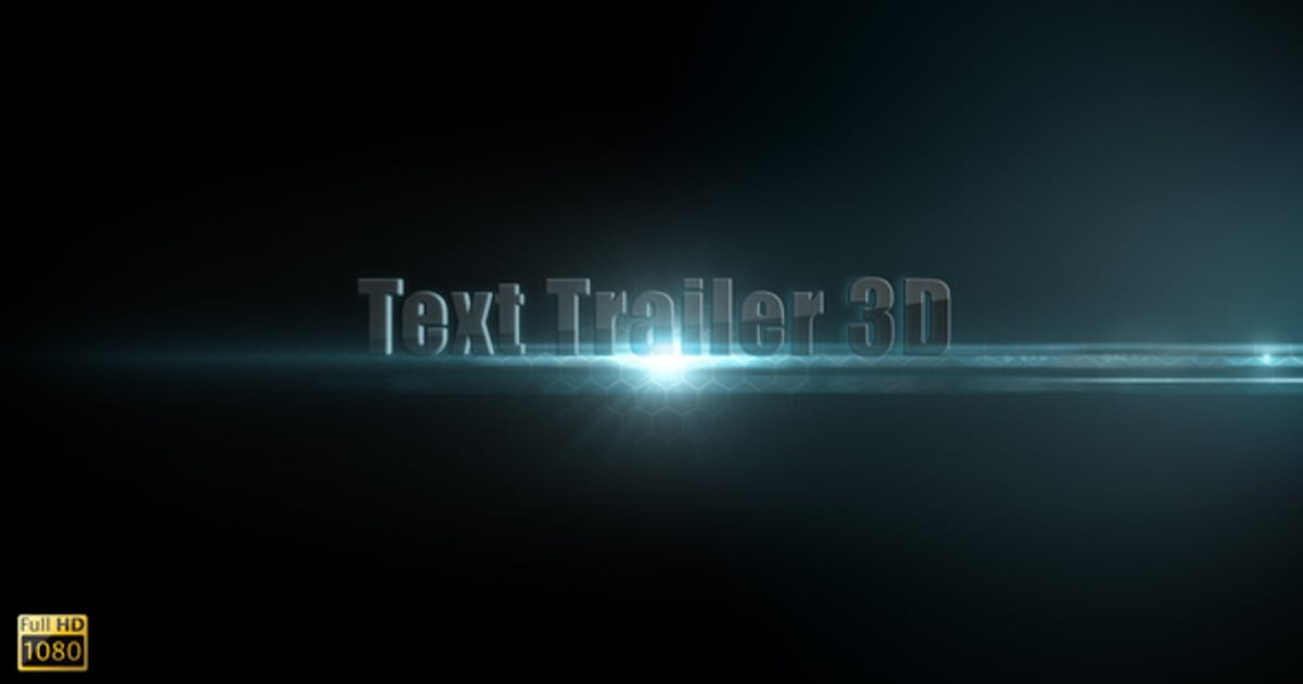 Download Text Trailer 3D by bank508