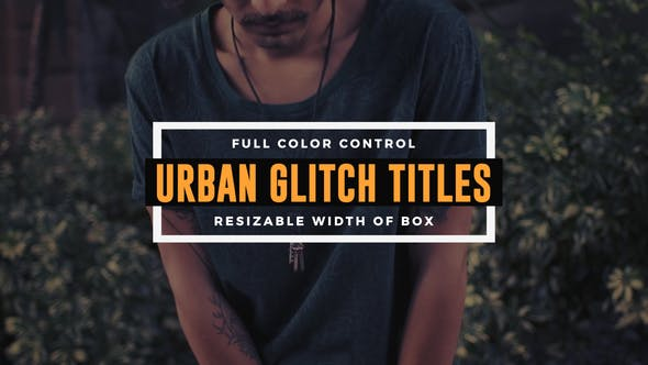 Cover Image for Urban Glitch Titles