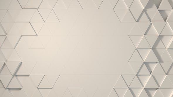 Thumbnail for Logo Background White Triangles