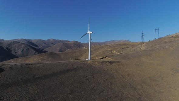 Thumbnail for Wind Power Windmill Station Production Energy