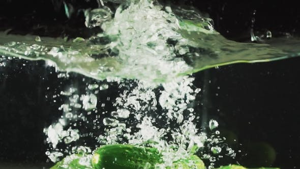 Thumbnail for Cucumber Drops into the Water