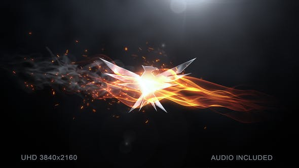 Elegant Flame Logo
