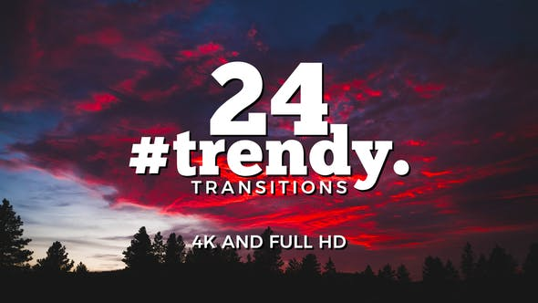 Thumbnail for Trendy Transitions Pack