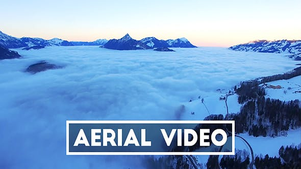 Thumbnail for Aerial Video of a Sea of Fog in Switzerland