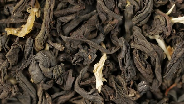 Thumbnail for Black Tea Leaves . Loop Rotation.