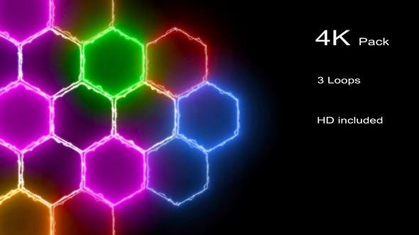 Thumbnail for 4K Energetic VJ Loops