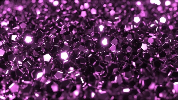 Thumbnail for Pile of Glossy Purple Crystals