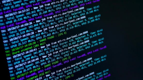 Thumbnail for Computer Code Data. Mobile App Developer. Abstract Source Code Background. Computer Program